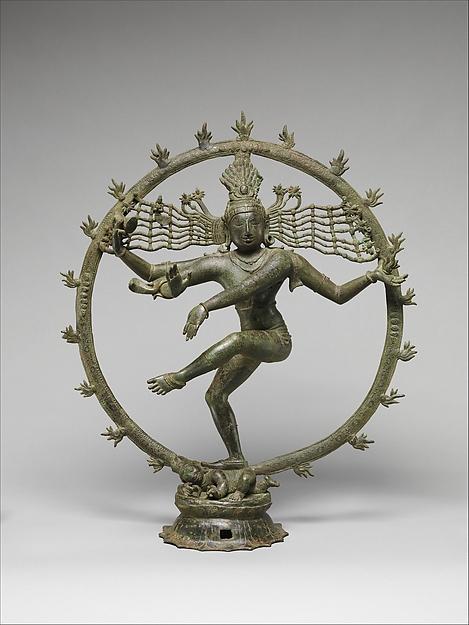 Shiva as Lord of Dance (Shiva Nataraja), Copper alloy, India (Tamil Nadu)