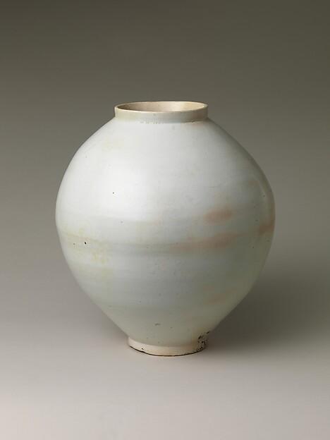 Moon Jar, Porcelain, Korea
