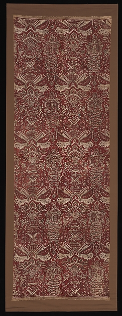 Long Cloth, Cotton (painted mordant, dyed), India (Coromandel Coast), for Indonesian market
