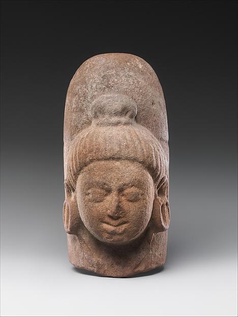 Linga with Face of Shiva (Ekamukhalinga), Sandstone, India (Madhya Pradesh)