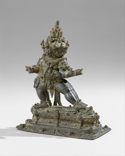 The Buddhist Guardian Mahabala, Bronze, Indonesia (Java)