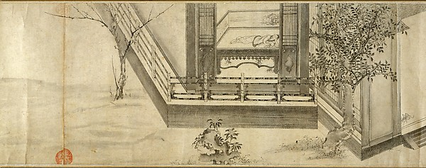 Odes of the State of Bin, Unidentified Artist, Handscroll; ink on paper, China