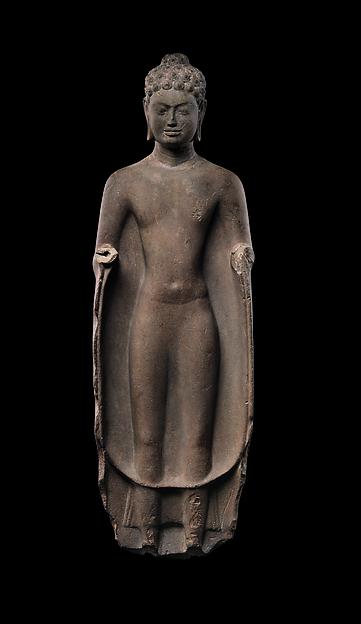 Buddha, Sandstone, Southern Cambodia