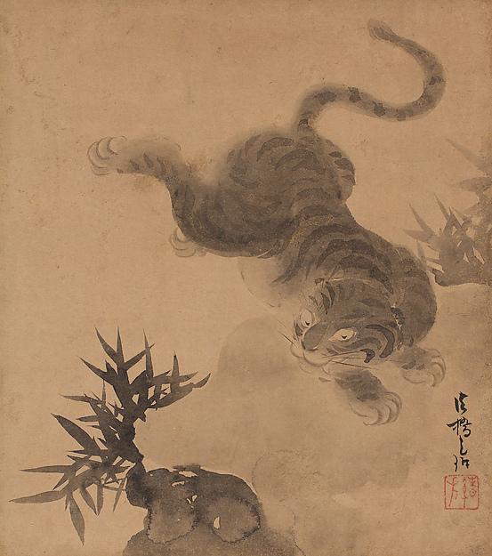 Pair of Painting Albums, Ogata Kōrin (Japanese, 1658–1716), Pair of painting albums, each with six leaves; ink and color on paper, Japan