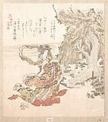MET-DP135857「鎌倉志 俊満製」 「天女毒蛇のいはやにたち給ふところ」・・『』