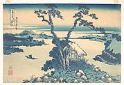 MET-DP140970天保02 ・・北斎 「富嶽三十六景」「信州諏訪湖」