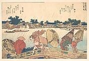 MET-DP140972・・北斎「新柳橋の白雨」