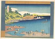 MET-DP140974・・北斎「千絵の海」「下総登戸」