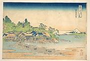MET-DP140985・・北斎「富嶽三十六景」「相州江の島」