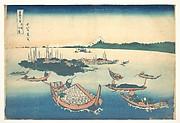 MET-DP140986天保02・・北斎「富嶽三十六景」「武陽佃島」