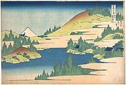 MET-DP140992・・北斎「富嶽三十六景」「相州箱根湖水」