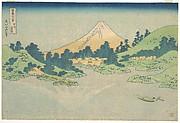 MET-DP140993・・北斎「富嶽三十六景」「甲州三坂水面」