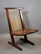 Conoid Lounge Chair, George Nakashima (Japanese American, Spokane, Washington 1905–1990 New Hope, Pennsylvania), Walnut, Japan