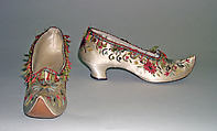 Shoes, Hellstern and Sons (French), silk, French