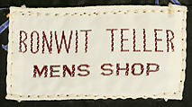 Suit, Bill Blass (American, Fort Wayne, Indiana 1922–2002 New Preston, Connecticut), wool, American