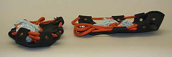 Shoes, Vivienne Westwood (British, born 1941), rubber, metal, cotton, British