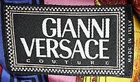 Suit, Gianni Versace (Italian, 1946–1997), silk, rayon, Italian