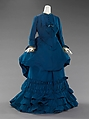 Afternoon dress, House of Worth (French, 1858–1956), silk, French