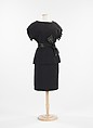 Dress, House of Givenchy (French, founded 1952), wool, French