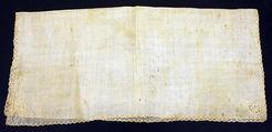Handkerchief, cotton, American
