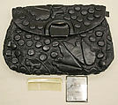 Purse, Harry Rosenfeld, leather, silk, American