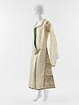 Evening dress, Paul Poiret (French, Paris 1879–1944 Paris), silk, metallic, French