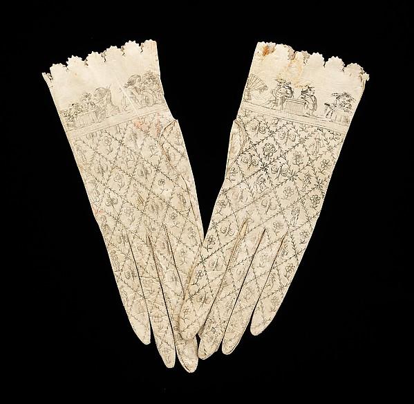 Gloves, leather, Spanish