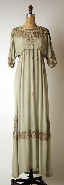 Evening dress, Fortuny (Italian, founded 1906), silk, Italian