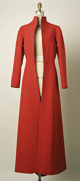 Evening coat, Elsa Schiaparelli (Italian, 1890–1973), wool, French
