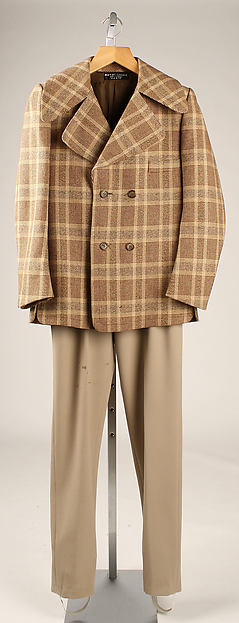 Ensemble, Pierre Cardin (French, born San Biagio di Callalta, Italy, 1922), wool, leather, French