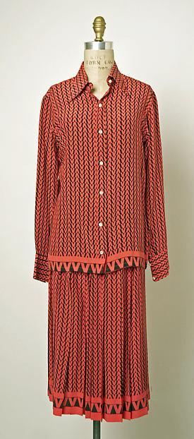 Dress, Valentino (Italian, born 1932), silk, Italian