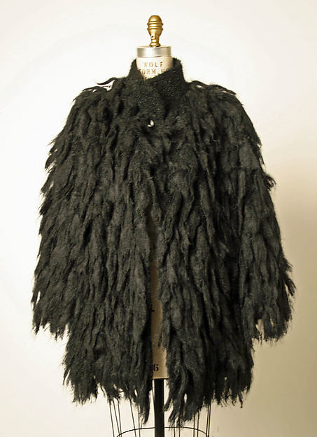 Coat, House of Balenciaga (French, founded 1937), wool, French