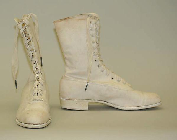Shoes, cotton, rubber, American