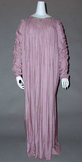 Dress, Liberty & Co. (British, founded London, 1875), silk, British