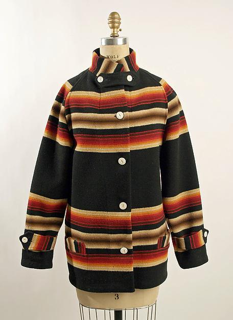 Jacket, wool, American