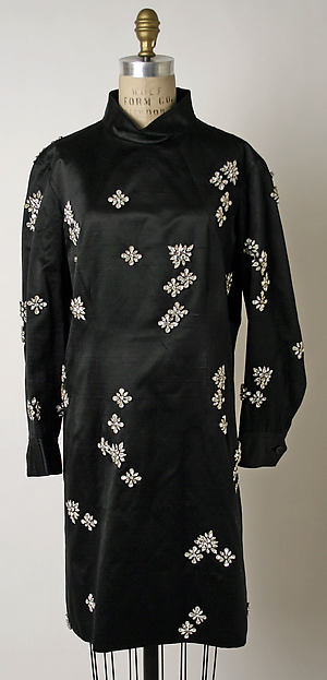 Dress, James Galanos (American, Philadelphia, Pennsylvania, 1924–2016 West Hollywood, California), silk, rhinestones, American