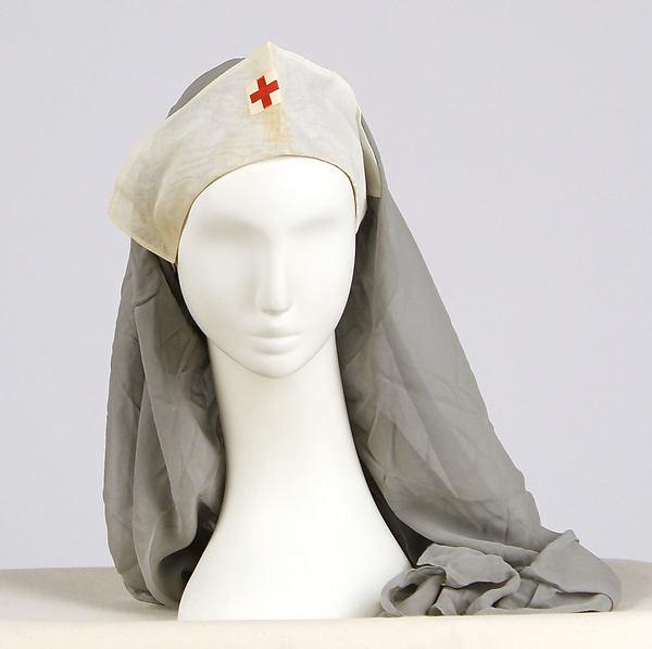 Uniform bonnet, Mainbocher (American, 1890–1976), cotton, American