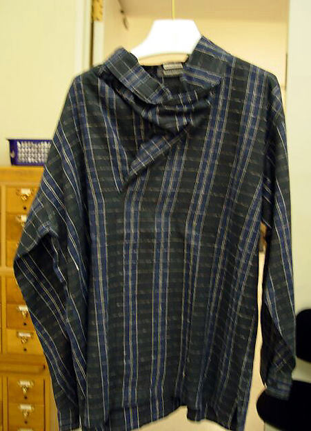 Shirt, Issey Miyake (Japanese, born 1938), cotton, Japanese