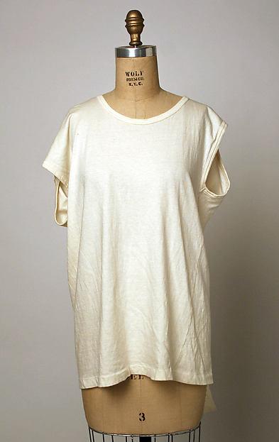 T-shirt, Comme des Garçons (Japanese, founded 1969), cotton, Japanese