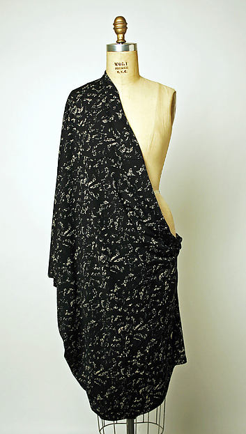 Scarf, Comme des Garçons (Japanese, founded 1969), cotton, Japanese