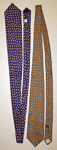Necktie, House of Dior (French, founded 1947), silk, French