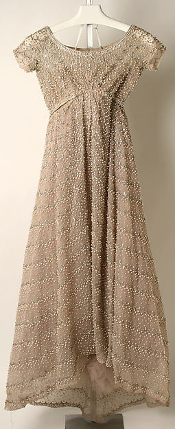 Evening dress, Attributed to House of Dior (French, founded 1947), cotton, silk, plastic, French