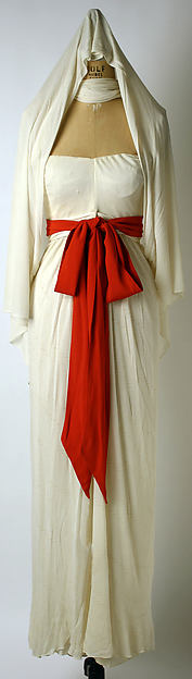 Evening dress, Valentina (American, born Russia, 1899–1989), silk, American