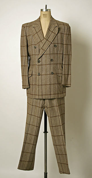 Suit, Bill Blass (American, Fort Wayne, Indiana 1922–2002 New Preston, Connecticut), wool blend, American
