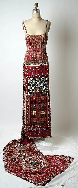 Dress, Todd Oldham (American, born 1961), silk, plastic, American