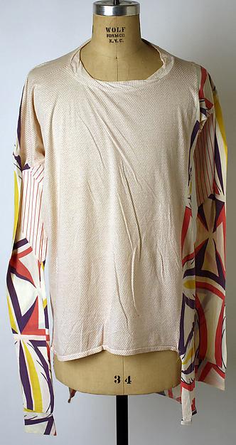 T-shirt, Vivienne Westwood (British, born 1941), cotton, British