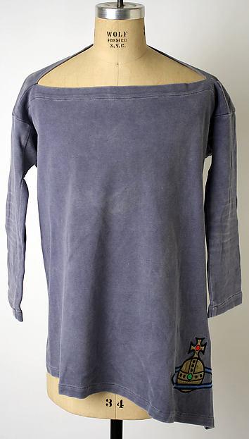 T-shirt, Vivienne Westwood (British, born 1941), cotton, synthetic, metallic, British