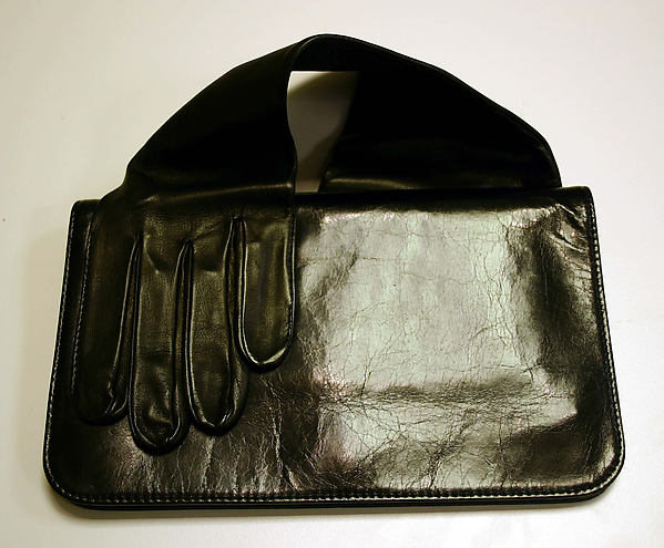 Clutch, Maison Martin Margiela (founded 1988), leather, French