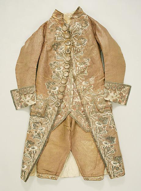 Court ensemble, silk, Spanish