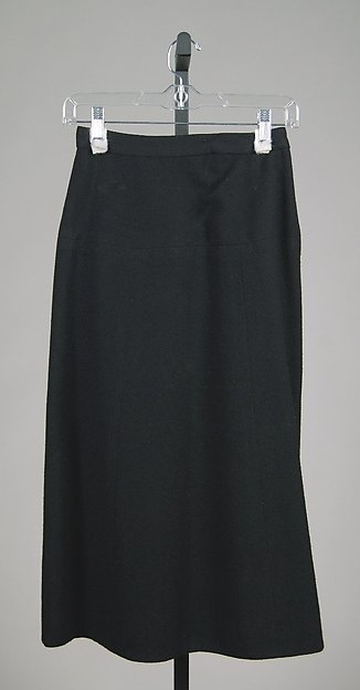Skirt, Attributed to Mainbocher (American, 1890–1976), Wool, American